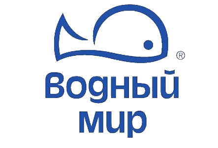 логотип компании водный мир